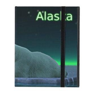 Ice Edge Polar Bear iPad Folio Cases