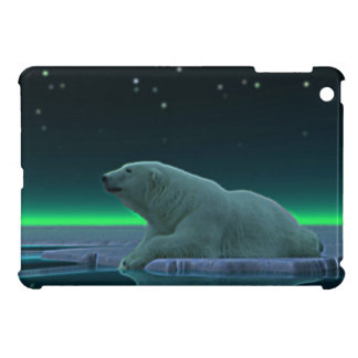 Ice Edge Polar Bear iPad Mini Cover