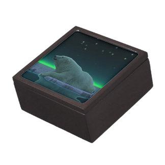Ice Edge Polar Bear Jewelry Box