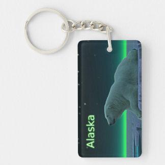 Ice Edge Polar Bear Keychain