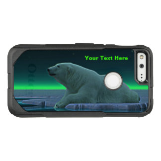 Ice Edge Polar Bear OtterBox Commuter Google Pixel Case