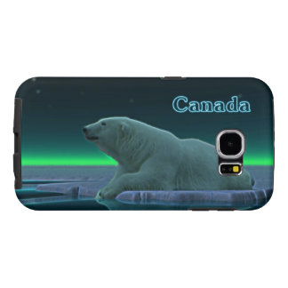 Ice Edge Polar Bear Samsung Galaxy S6 Case
