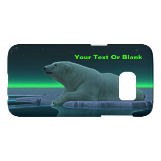Ice Edge Polar Bear Samsung Galaxy S7 Case