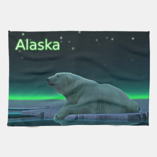 Ice Edge Polar Bear Towel