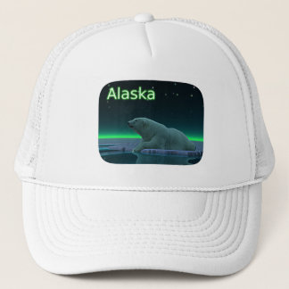 Ice Edge Polar Bear Trucker Hat