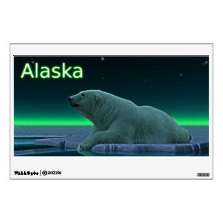 Ice Edge Polar Bear Wall Decal