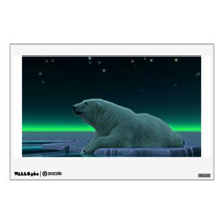 Ice Edge Polar Bear Room Sticker