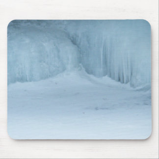 Ice Falls Mouse Pad