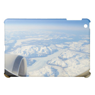 Ice Fields of South Greenland From Airplane Window iPad Mini Cover