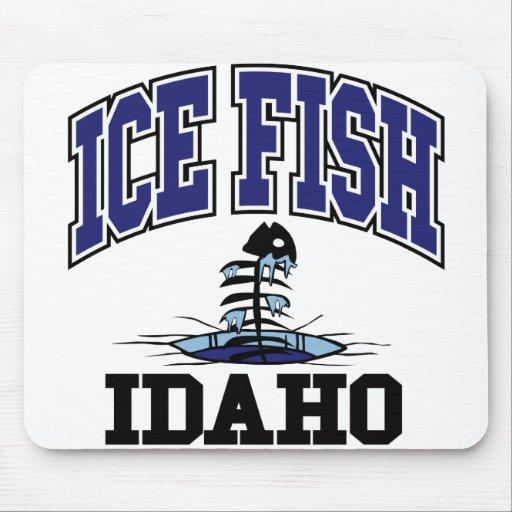 Ice Fish Idaho Mouse Pad