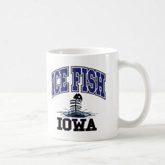 Ice Fish Iowa Coffee Mug