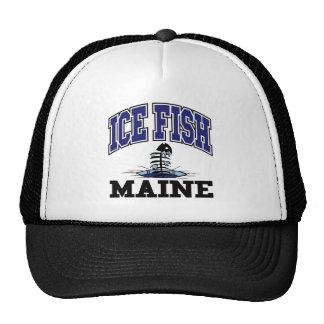 Ice Fish Maine Trucker Hat