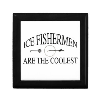 Ice fishermen are cool gift box