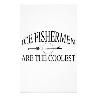 Ice fishermen are cool stationery