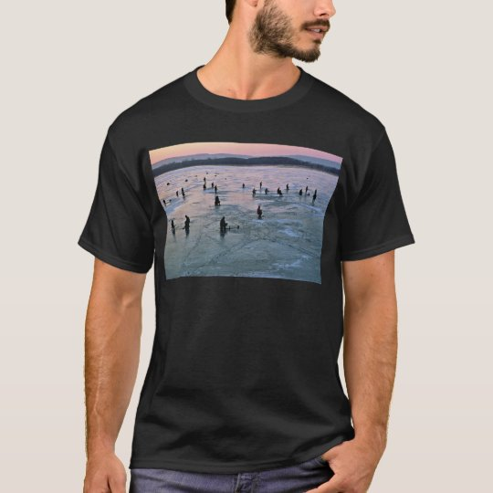 Ice Fishermen, Stoddard, WI T-Shirt