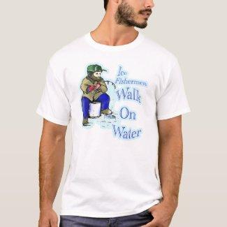 ice fishiing T-Shirt