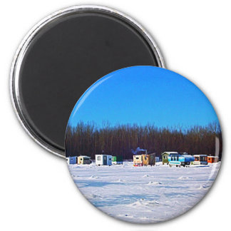 Ice Fishing collection Magnet