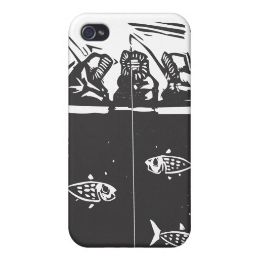 Ice Fishing Inuit Covers For iPhone 4