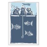 Ice Fishing Inuit Greeting Card
