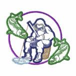 Ice Fishing Logo Embroidered Hooded Sweatshirt