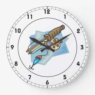 Ice Fishing Pole Clocks