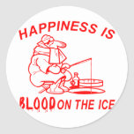 ICE FISHING STICKERS