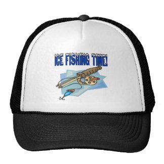Ice Fishing Time Trucker Hat