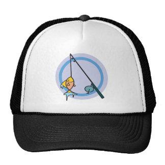 Ice Fishing Trucker Hat