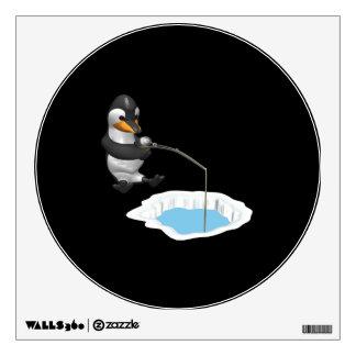 Ice Fishing Wall Sticker