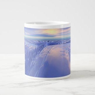 Ice Fissure Large Coffee Mug