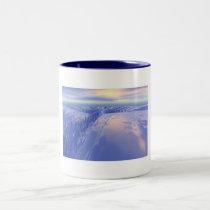 Ice Fissure Two-Tone Coffee Mug