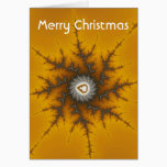 Ice Flake - Merry Christmas Fractal Card