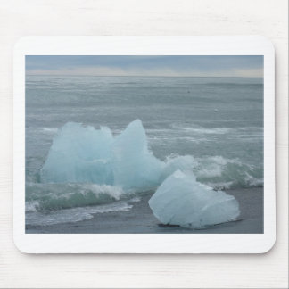 Ice floes mousepad