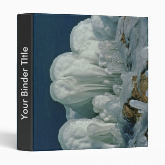 Ice Formation 3 Ring Binder