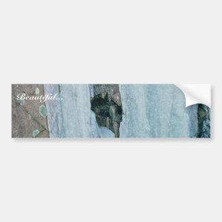 Ice Formation Bumper Sticker