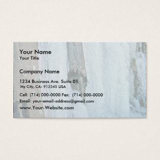 Ice Formation Business Card