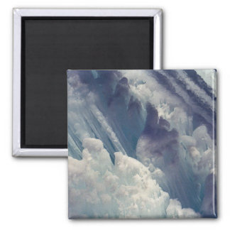 Ice Formation 2 Inch Square Magnet