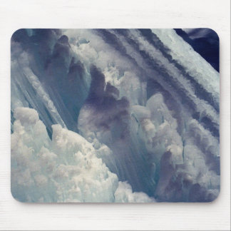 Ice Formation Winter Photo Mouse Pad