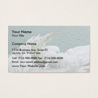 Ice Formations Business Card