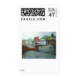 ice & fuel, Portsmouth Harbor Postage