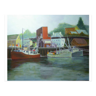 ice & fuel, Portsmouth Harbor Postcard
