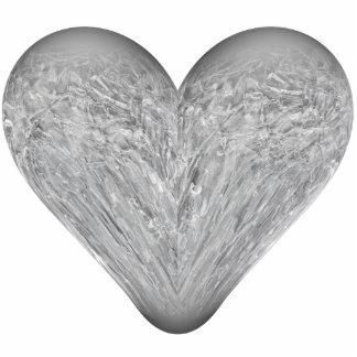 ice heart cutout