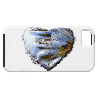 Ice Heart; No Text iPhone 5 Case