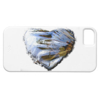 Ice Heart; No Text iPhone SE/5/5s Case