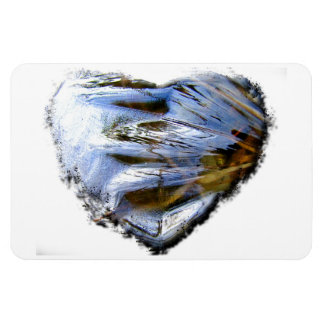 Ice Heart; No Text Magnet