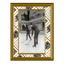 Ice Hockey, 1920 Postcard
