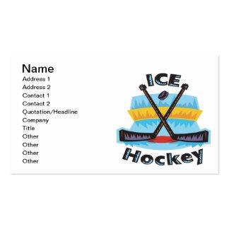 Ice Hockey Business Card