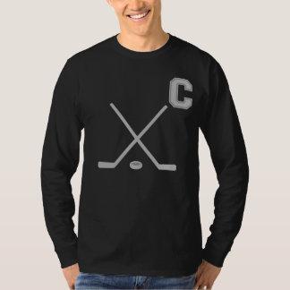 Ice Hockey Captain Dark T-Shirt