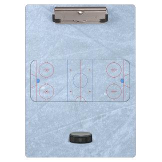 Ice Hockey Coach Clipboard
