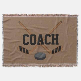 Ice Hockey Coach Sports Blanket Gift